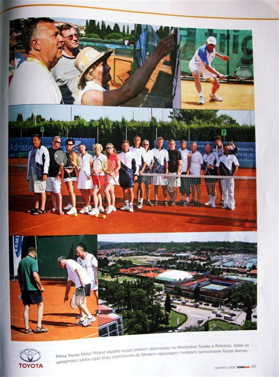 Tenis Klub o Mistrzostwach Świata w Słowenii